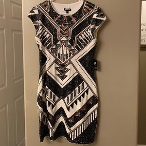 NEW WITH TAGS Express sequin dress. Medium.